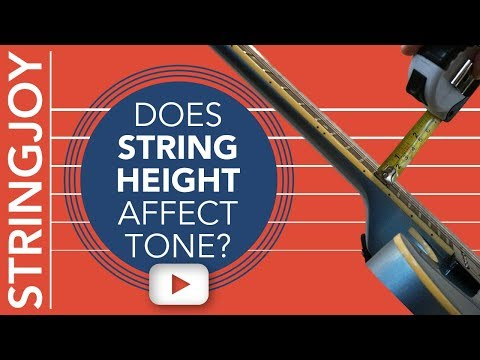 Does Guitar String Height / Action Affect Tone?