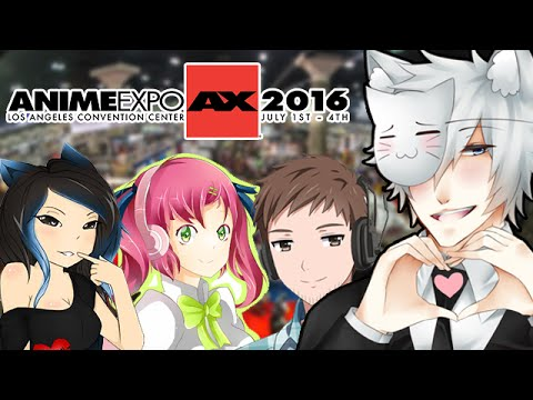 JOEY & FRIENDS TOUCH EACH OTHER AT ANIME EXPO 2016