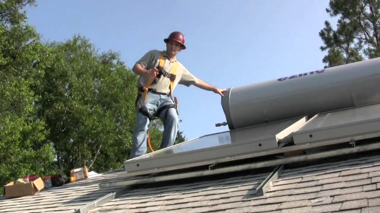Ezinc Passive Solar Water Heating System Youtube