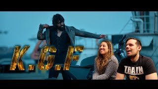 KGF Official Trailer 2 Kannada | Yash | Srinidhi| AMERICAN REACTION!