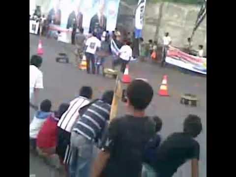 Drag Race Manado SULUTkls FFARein Moningka pe mobil FavoriteDaihatsu Ferosa