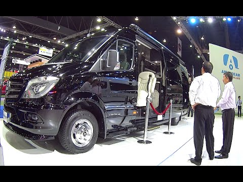 New 2016, 2017  luxury Motorhome on the base Mercedes Airstream
