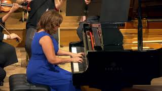 Eliane Reyes- Chopin Piano Concerto No 2 Op 21 in F minor(2nd Movement)