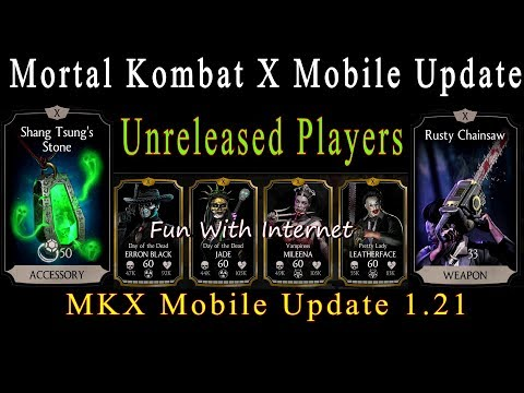 Mortal Kombat X Update 1.21 All New/Unreleased Characters Maxed Gameplay thumbnail