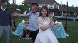 Сюрприз от невесты на свадьбе порвал зал