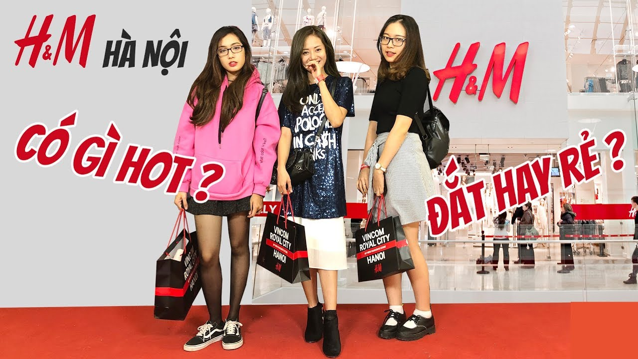 Review cửa hàng H&M đầu tiên ở Hà Nội