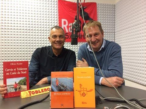 "17 novembre 2016 Olivier Racine ""Carnotzet Voltaire"" sur Radio Bern 95.6 MHz"