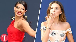 Best Dressed Celebrities From The Emmy Awards 2018 Red Carpet