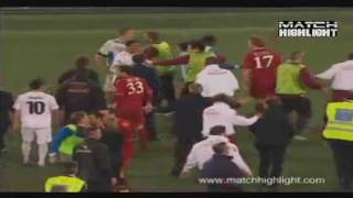 Lazio - AS Roma 1-2 Fight Attack After the match