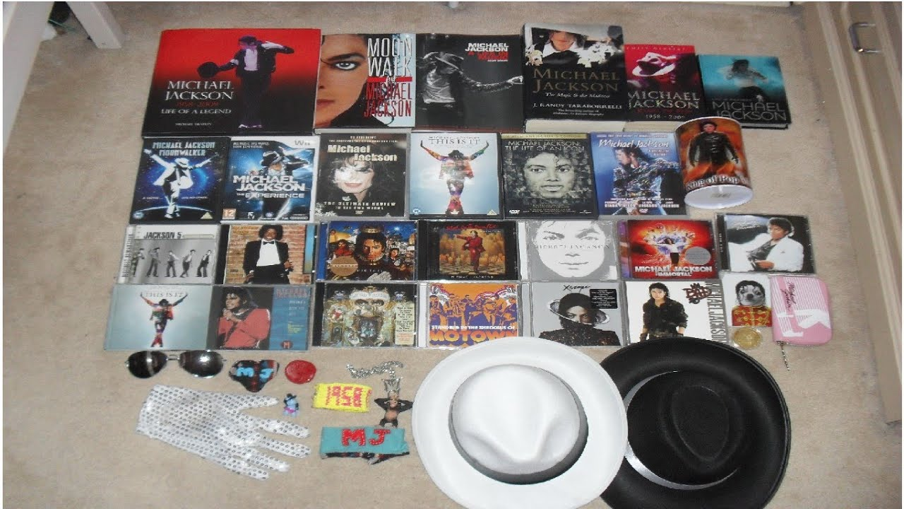 Huge Michael Jackson Collection Youtube