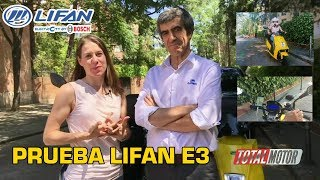 Lifan E3  | Prueba / Test / Review en español | Total Motor TV