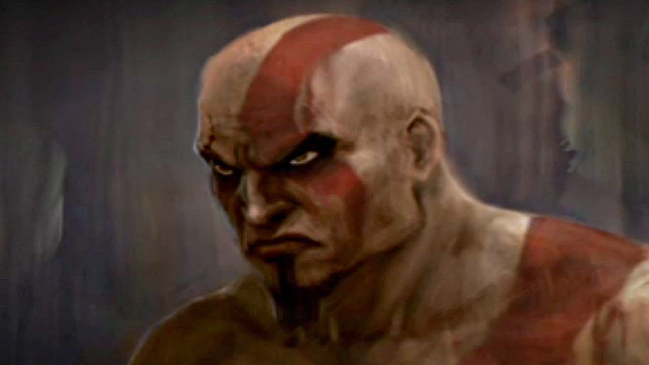 God Of War How Kratos Got Red Marks