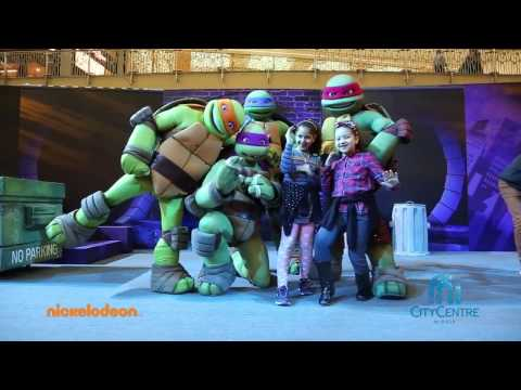 Teenage Mutant Ninja Turtles at City Centre Mirdif