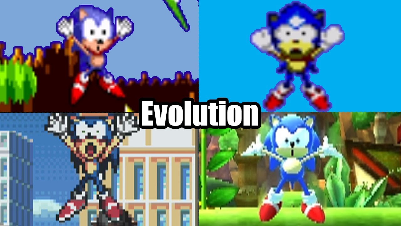 Evolution Of Sonic The Hedgehog Deaths Game Over Screens 1991