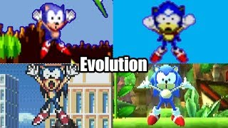 EVOLUTION OF SONIC THE HEDGEHOG DEATHS & GAME OVER SCREENS (1991-2016) Genesis, Sega CD, Wii & More!