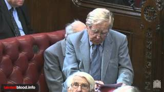Contaminated Blood Bill First Reading - Lord Morris - 16th May 2010