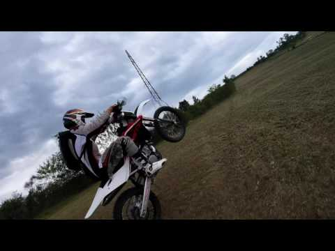 FPV Drone Dirt Bike Chase Footage