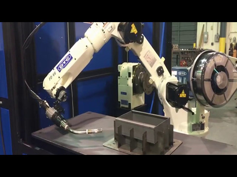 ROBOT WELDING  #001 - Eureka Virtual Machining 8.1