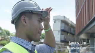 James Lim talks about studying Construction Management & Property