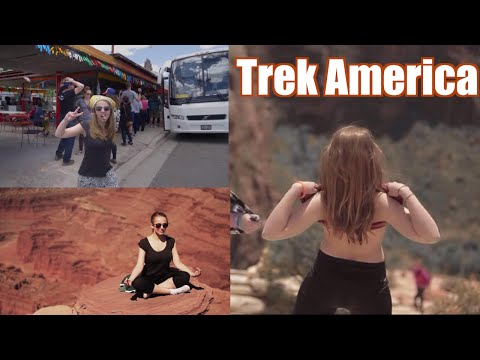 Las Vegas & National Parks | Trek America | Hannah Witton
