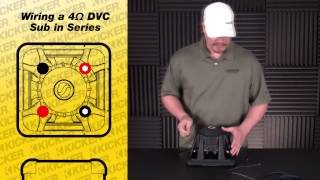 How to wire 4 ohm subs to 2 ohms