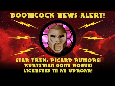 Star Trek Picard Series Rumored in Trouble! Licensees Furious, CBS in CHAOS?