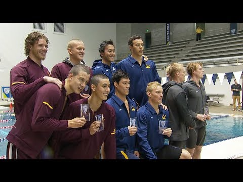 2018 Pac-12 Swimming (M) Championships: Cal claims title in 800 freestyle relay