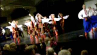 Ukrainian dancers at the Royal Ontario Museum