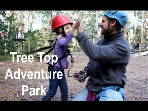 Tree Top Adventure Park In Australia