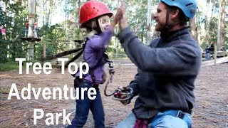 Tree Top Adventure Park in Australia - Family Adventure