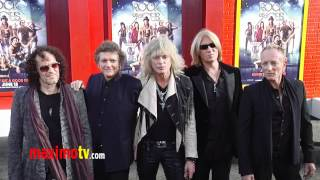 "Def Leppard at ""Rock of Ages"" World Premiere Arrivals - Maximo TV Red Carpet Video"