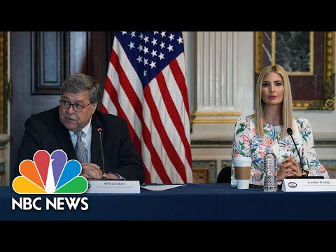 Ivanka Trump, AG Barr Discuss Housing Plan For Survivors Of Human Trafficking | NBC News NOW