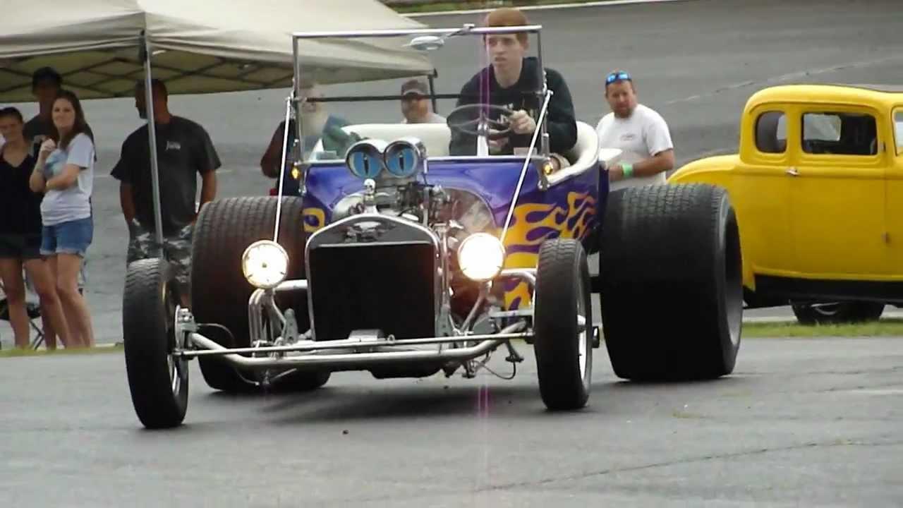T Bucket Roadster Fat Tires Wheelie Bars Tunnel Ram