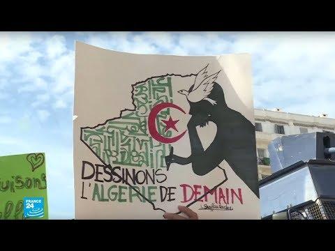 أبرز الشعارات التي يرفعها الحراك الشعبي في الجزائر  - نشر قبل 2 ساعة
