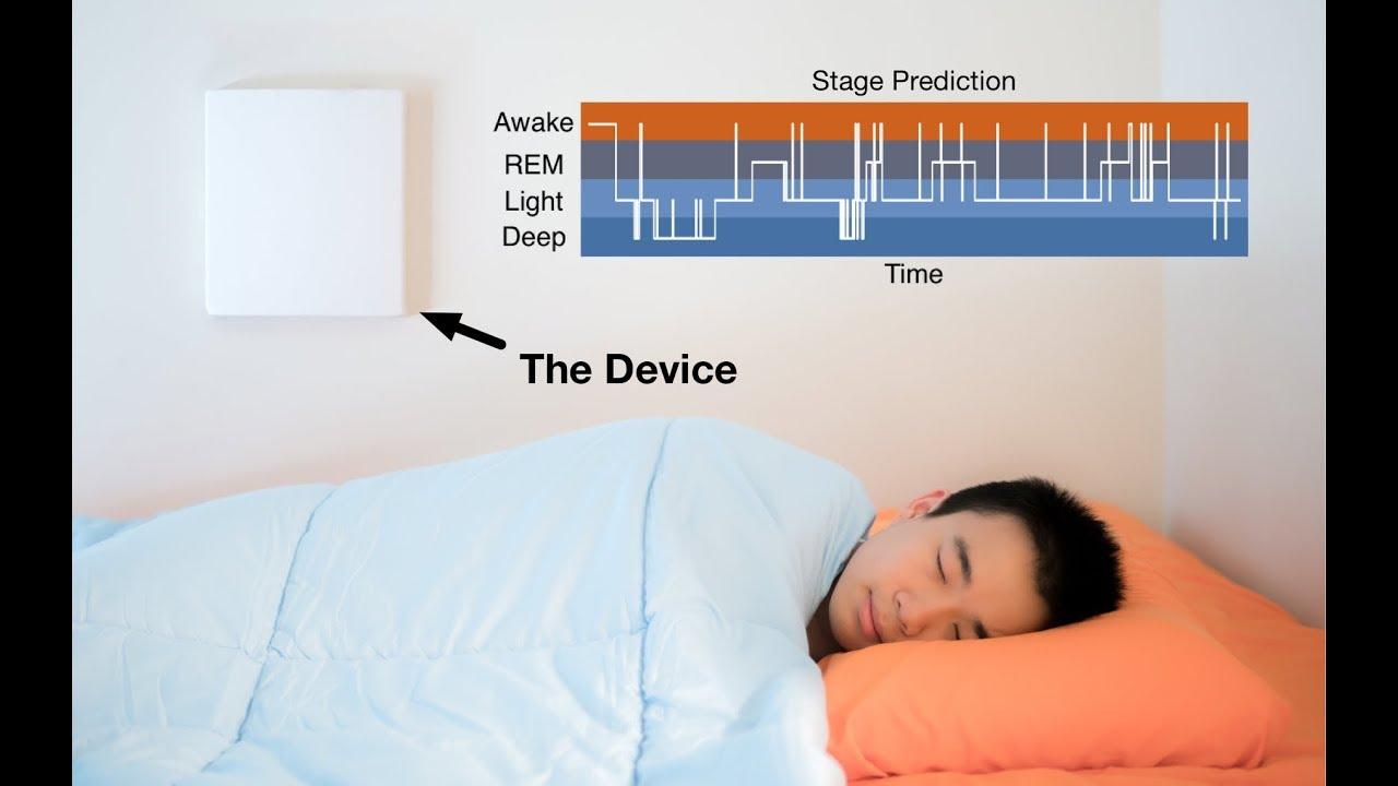 New AI algorithm monitors sleep with radio waves | MIT News
