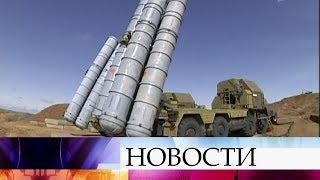 Поставка Сирии зенитного ракетного комплекса не направлена против третьих стран, заявил Д.Песков.