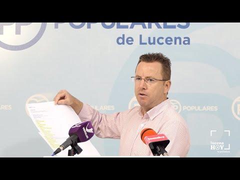 """VÍDEO: El PP recrimina al equipo de gobierno """"que haya puesto en la calle"""" a la fundación FAISEM"""