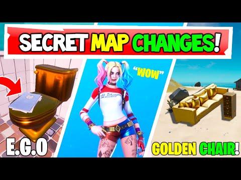 *NEW* Fortnite SECRET MAP CHANGES