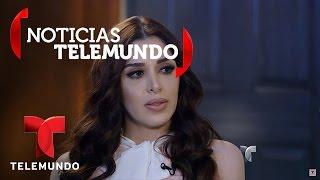 La esposa de 'El Chapo', Emma Coronel, habla con Telemundo 2/5 | Noticias