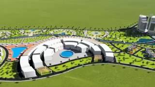 aménagement d'un village touristique et conception d'un hôtel de luxe a CHERCHEL