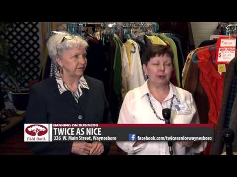 Banking on Business with Twice as Nice Consignment Boutique