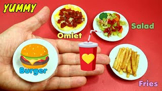 🍳 How To Make Real DIY Edible Miniature Food For Dolls