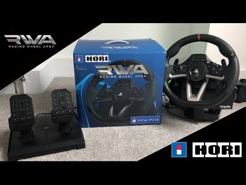 RWA RACING WHEEL APEX HOW TO ADJUST STEERING SENSITIVITY!