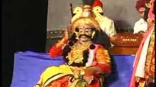 Yakshagana Dance by Chittani...Ootadali Nipuna Neenu