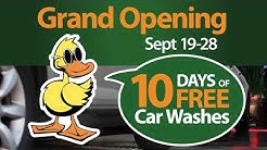 Logan/Providence Quick Quack Car Wash Grand Opening - Now Open