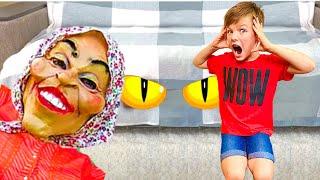 Няня и забавная история для детей