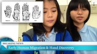 Early Human Migration & Hand Discovery