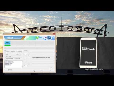 Galaxy Note 3 LolliPop install TWRP and GAPPS SM-N9006
