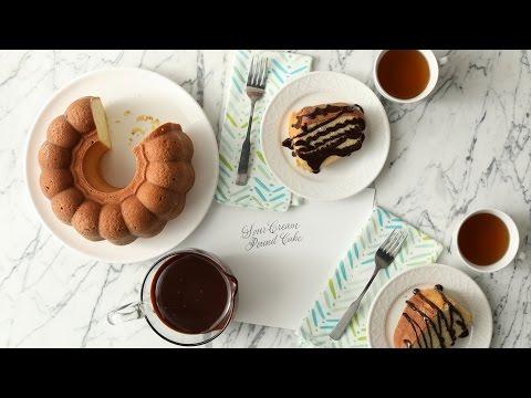 Sour Cream Pound Cake- Martha Stewart