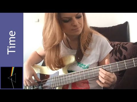 Pink Floyd - Time bass cover (Barbara Mazur) mp3